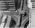 Hochbahn-Kreuzung in Chicago. Photographie