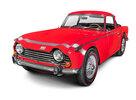Roter Triumph TR250, Baujahr