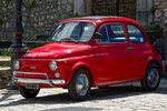 Roter FIAT Nuova 500 L, Cinquecento