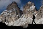 Alpen, Südtirol, Sellajoch, Steinerne Stadt