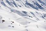 Alpen, Seiseralm, Skitour