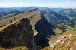 Alpen, Kleinwalsertal, Ifen, Trailrunning