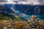 Europa, Norwegen, Aurlandsfjord