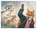 Fuchs, Widder und Hase