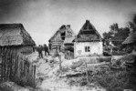 Bauernhaeuser der polnischen Bevoelkerung in Gohle, Zabikowo