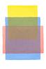 Abstraktes Aquarell Gelb Blau Rot
