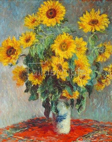 Claude Monet: Sonnenblumen. 1880