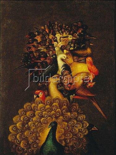 Giuseppe Arcimboldo: Allegorie der Luft.