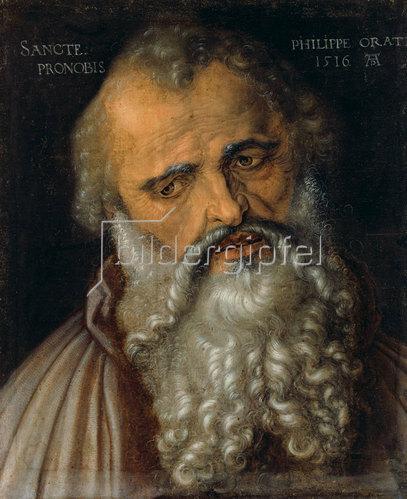 Albrecht Dürer: Der Apostel Philippus.