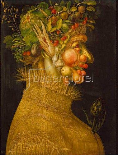 Giuseppe Arcimboldo: Der Sommer. 1563.