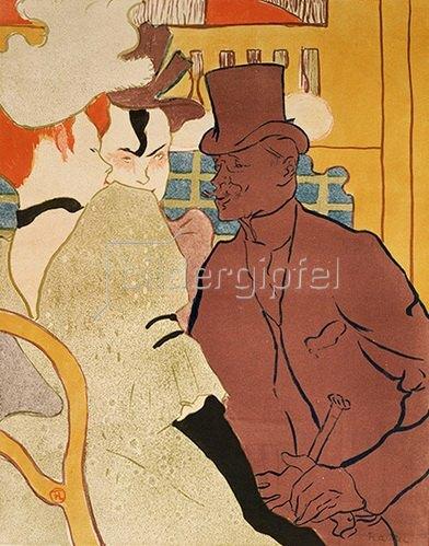 Henri de Toulouse-Lautrec: Der Engländer im Moulin-Rouge.