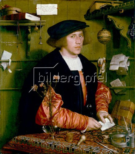 Hans Holbein d.J.: Bildnis des Kaufmanns Georg Gisze. 1532