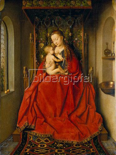 Jan van Eyck: Madonna von Lucca. Um 1437/38