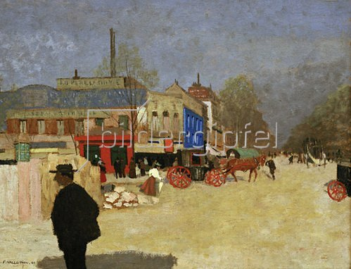 Felix Vallotton: Der Place Clichy in Paris, 1901