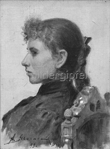 Alexej von Jawlensky: Anjuta, 1893
