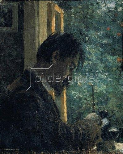 Alexej von Jawlensky: Der Künstler Wassili Mathe bei der Arbeit, 1892