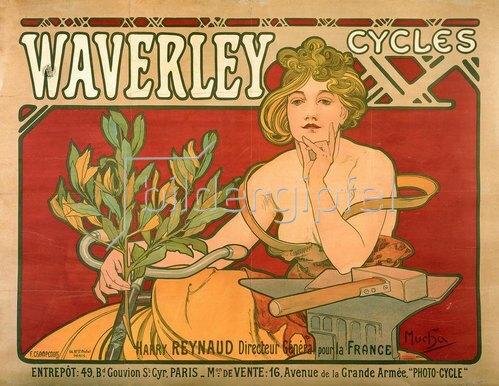 Alfons Mucha: Waverley Cycles