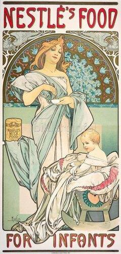 Alfons Mucha: Nestlé's Food for Infants