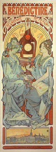Alfons Mucha: Bénédictine