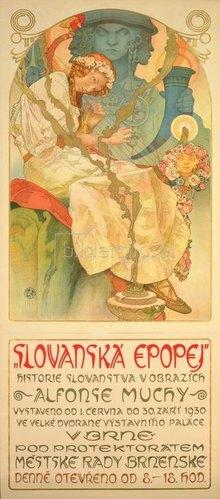 Alfons Mucha: Slawisches Epos