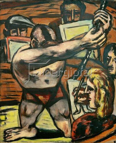 Max Beckmann: Akademie II, 1944