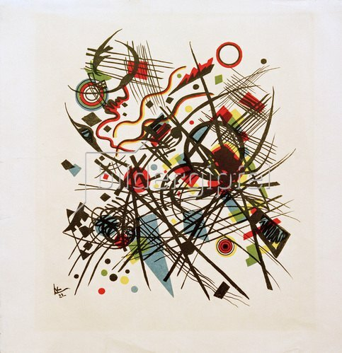 Wassily Kandinsky: Komposition, 1922.