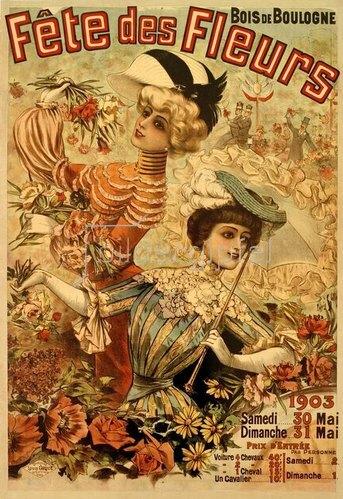 Fête des Fleurs, Bois de Boulogne, 1903