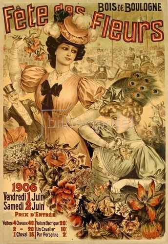 Fête des Fleurs, Bois de Boulogne, 1906