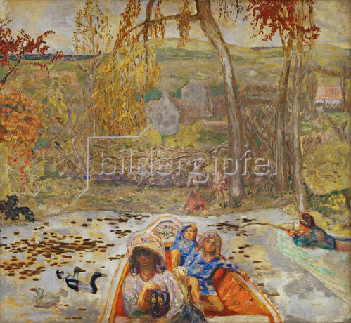 Pierre Bonnard: En barque - Im Kahn