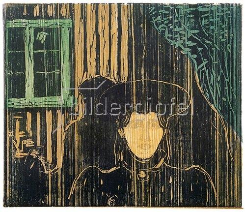 Edvard Munch: Mondschein, 1896
