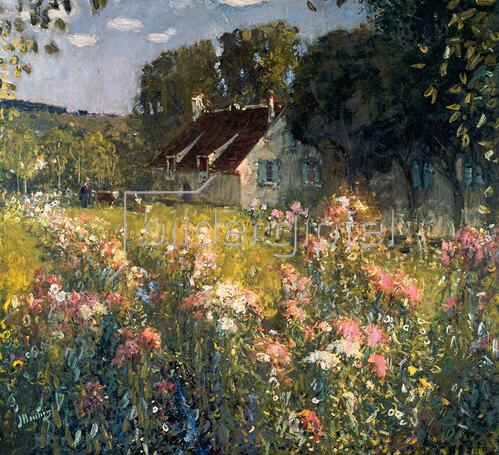 Pierre-Eugene Montézin: Le verger fleuri (Blühender Obstgarten), undatiert