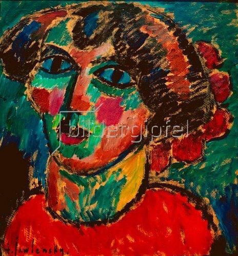 Alexej von Jawlensky: Bacchante, 1912