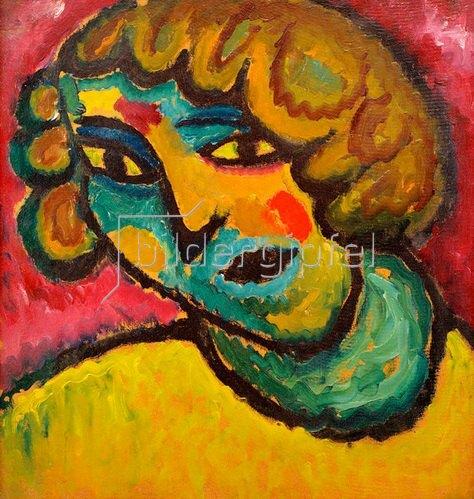 Alexej von Jawlensky: Silence, 1912/13