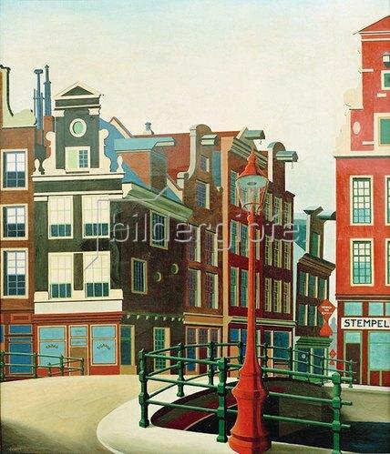 Carl Grossberg: Amsterdam, Singelgracht, 1925