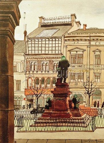 Carl Grossberg: Hannover, Marschnerdenkmal, 1936