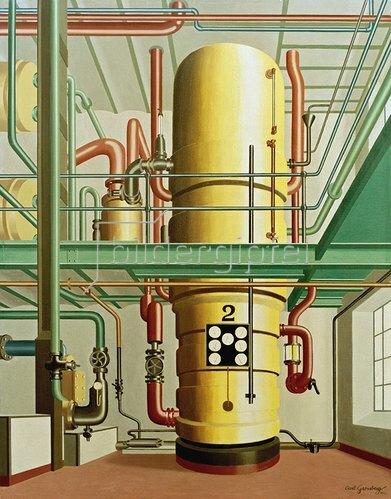 Carl Grossberg: Der gelbe Kessel, 1933