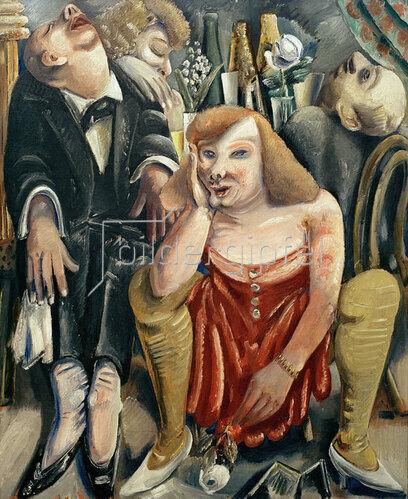 Paul Kleinschmidt: Drunken Society, 1929
