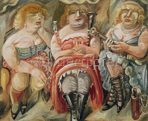 Paul Kleinschmidt: Pause der Damenkapelle, 1925