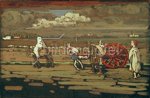 Wassily Kandinsky: Landstraße, 1905