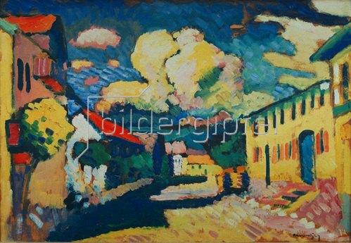 Wassily Kandinsky: Murnau, Dorfstraße, 1908