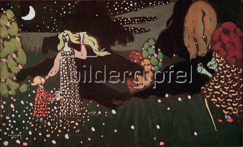 Wassily Kandinsky: Die Nacht, Märchen: Die schöne Wassilissa