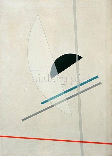 László Moholy-Nagy: Komposition, 1922/23