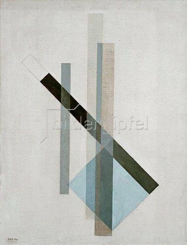 László Moholy-Nagy: Konstruktion (Glas-Architektur) um 1922/23