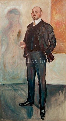 Edvard Munch: Walther Rathenau, Schriftsteller und Politiker