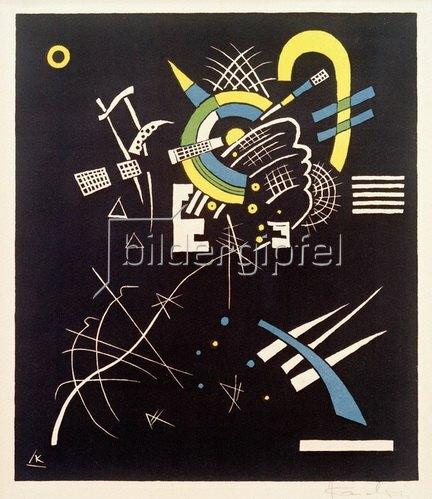 Wassily Kandinsky: Kleine Welten VII, 1922.