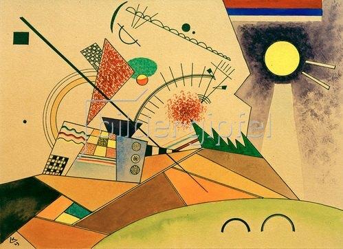 Wassily Kandinsky: Skizze zu: Bewegte Ruhe, 1923