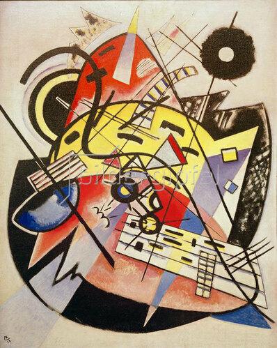 Weißer Punkt (Komposition Nr. 248), 1923.