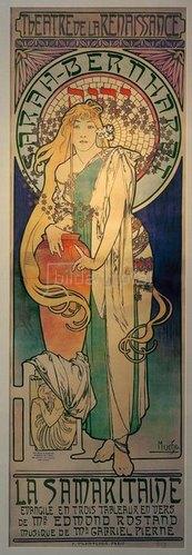 Alfons Mucha: Sarah Bernhardt als Samaritaine