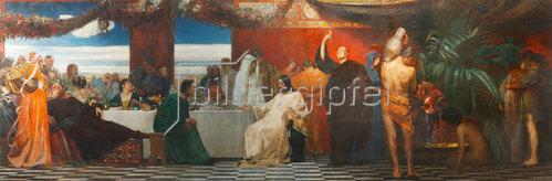 August von Brandis: Hochzeit zu Kanaa