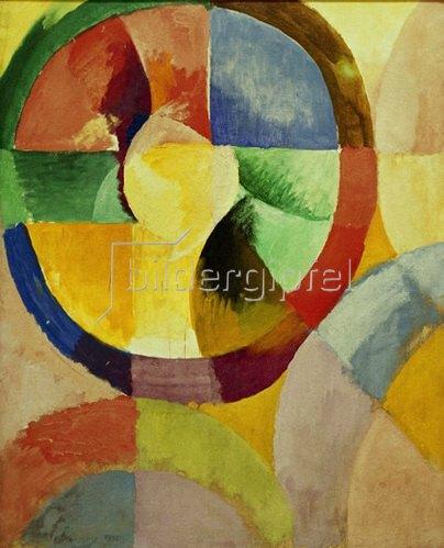 Robert Delaunay: Runde Formen, 1912